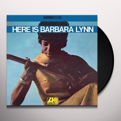 HERE IS BARBARA LYNN Vinyl Record - Gatefold Sleeve, 180 Gram Pressing, Remastered