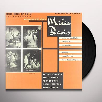 Miles Davis YOUNG MAN WITH A HORN Vinyl Record