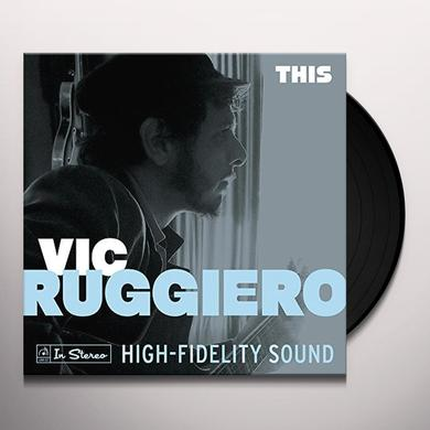 Vic Ruggiero THIS Vinyl Record - Digital Download Included