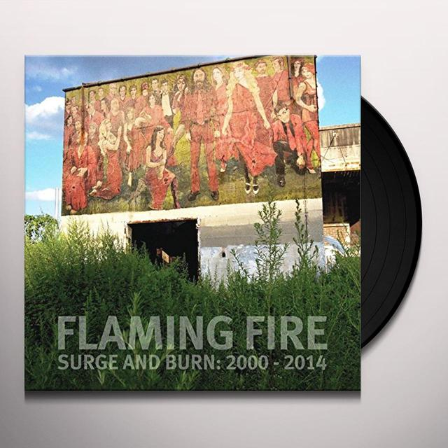 FLAMING FIRE SURGE AND BURN: 2000-2014 Vinyl Record - Gatefold Sleeve