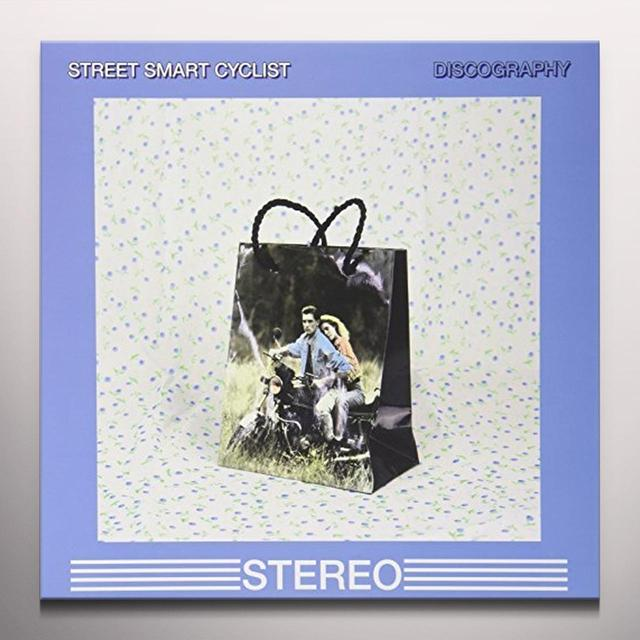 STREET SMART CYCLIST DISCOGRAPHY Vinyl Record - Blue Vinyl