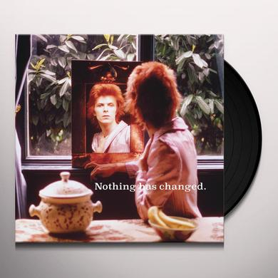 David Bowie NOTHING HAS CHANGED Vinyl Record - Gatefold Sleeve