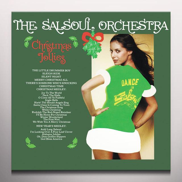 Salsoul Orchestra CHRISTMAS JOLLIES Vinyl Record - Colored Vinyl, Limited Edition, 180 Gram Pressing