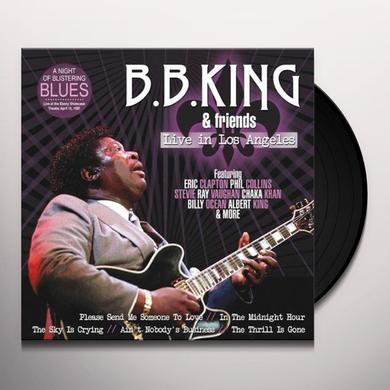 B.B. King LIVE IN LOS ANGELES Vinyl Record - Holland Import
