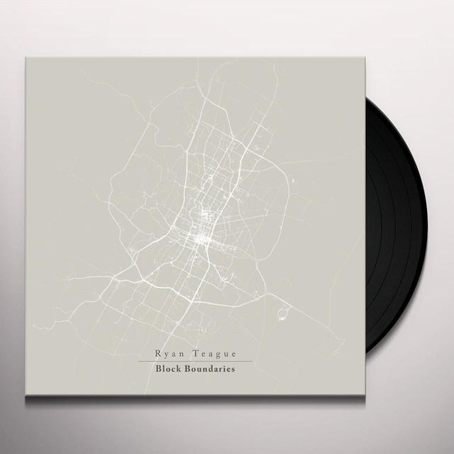 Ryan Teague BLOCK BOUNDARIES (UK) (Vinyl)