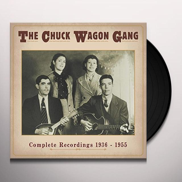 CHUCK WAGON GANG COMPLETE RECORDINGS 1936-55 (GER) (Vinyl)