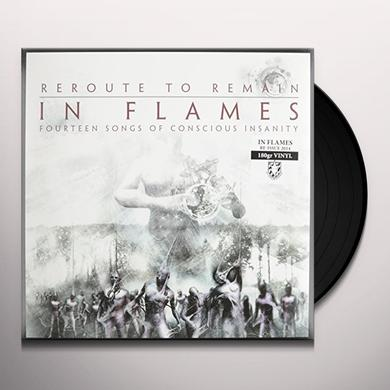 In Flames REROUTE TO REMAIN Vinyl Record - Reissue
