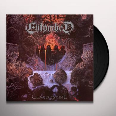Entombed CLANDESTINE Vinyl Record - Reissue
