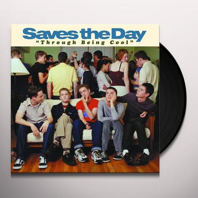 Saves The Day THROUGH BEING COOL Vinyl Record