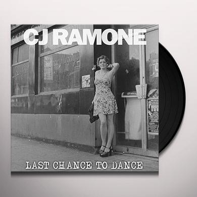 Cj Ramone LAST CHANCE TO DANCE Vinyl Record
