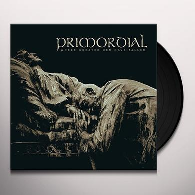 Primordial WHERE GREATER MEN HAVE FALLEN Vinyl Record