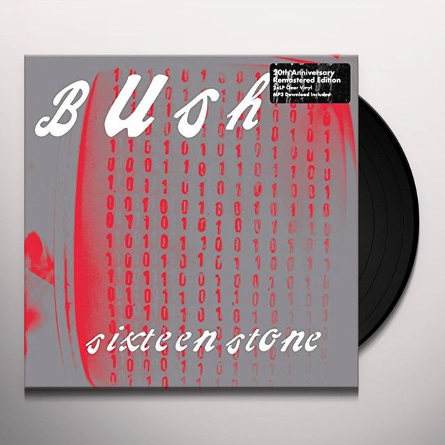 Bush SIXTEEN STONE Vinyl Record - Remastered