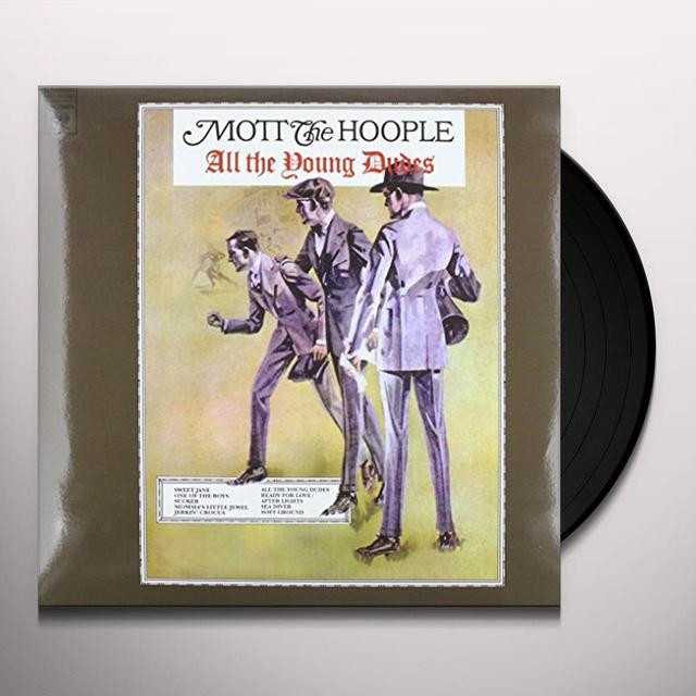Mott The Hoople ALL THE YOUNG DUDES Vinyl Record - Black Vinyl, Limited Edition, 200 Gram Edition