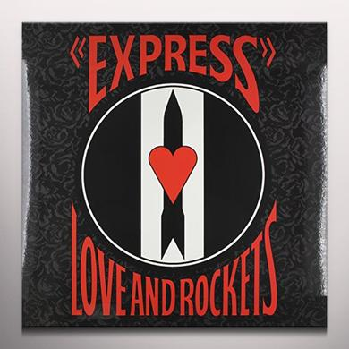 Love & Rockets EXPRESS Vinyl Record - Limited Edition, Red Vinyl