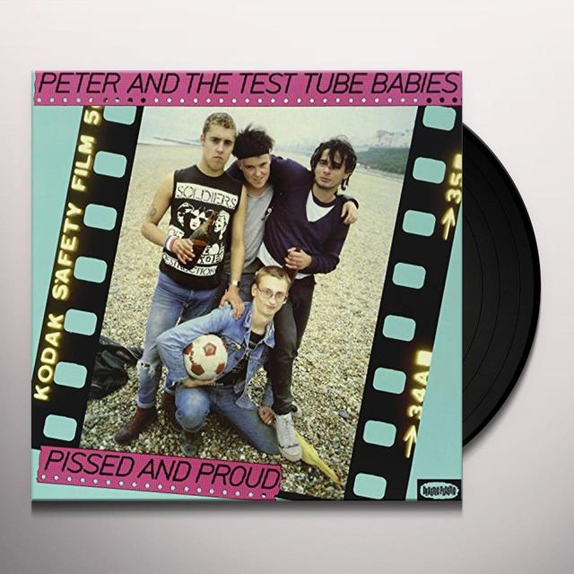 Peter and the Test Tube Babies PISSED & PROUD Vinyl Record - Black Vinyl, Limited Edition, 200 Gram Edition