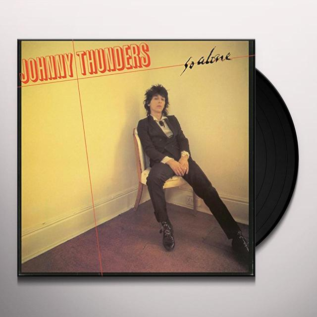 Johnny Thunders SO ALONE Vinyl Record