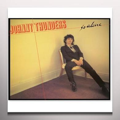 Johnny Thunders SO ALONE Vinyl Record - Limited Edition, Yellow Vinyl