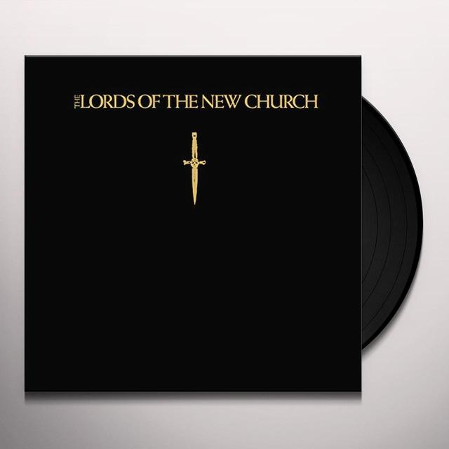 LORDS OF THE NEW CHURCH Vinyl Record - Black Vinyl, Limited Edition, 200 Gram Edition