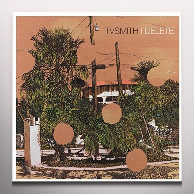 Tv Smith I DELETE Vinyl Record - Clear Vinyl, Limited Edition