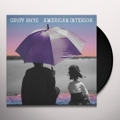 Gruff Rhys AMERICAN INTERIOR Vinyl Record