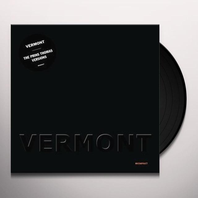 Vermont PRINS THOMAS VERSIONS Vinyl Record