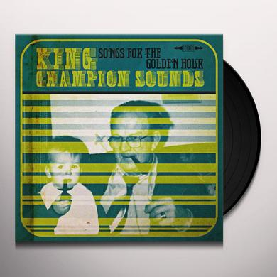 KING CHAMPION SOUNDS SONGS FOR THE GOLDEN HOUR Vinyl Record - w/CD