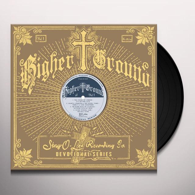 HIGHER GROUND 1 / VARIOUS (10IN) HIGHER GROUND 1 / VARIOUS Vinyl Record - 10 Inch Single
