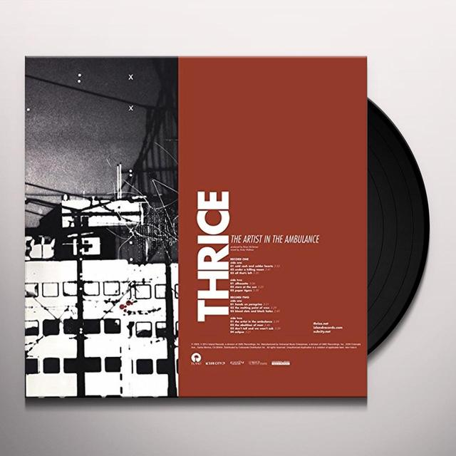 Thrice ARTIST IN THE AMBULANCE Vinyl Record
