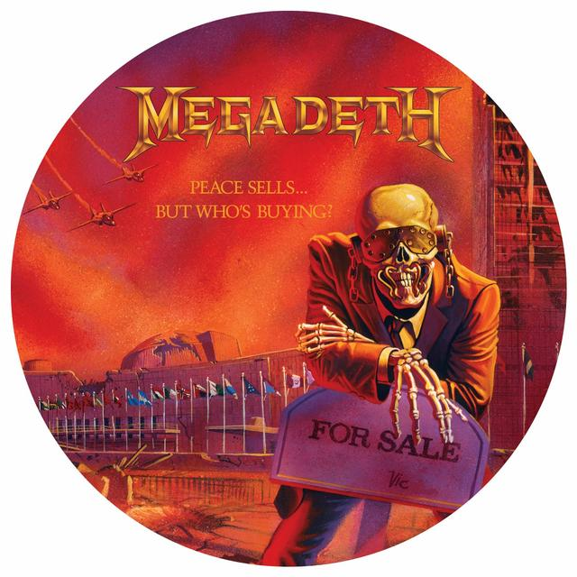 Megadeth PEACE SELLS: BUT WHO'S BUYING Vinyl Record