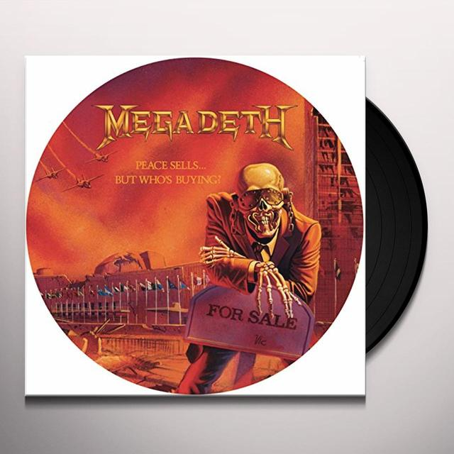 Megadeth PEACE SELLS: BUT WHO'S BUYING Vinyl Record - Picture Disc