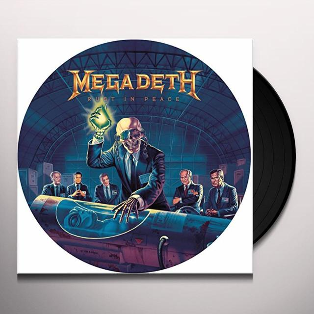 Megadeth RUST IN PEACE Vinyl Record - Picture Disc