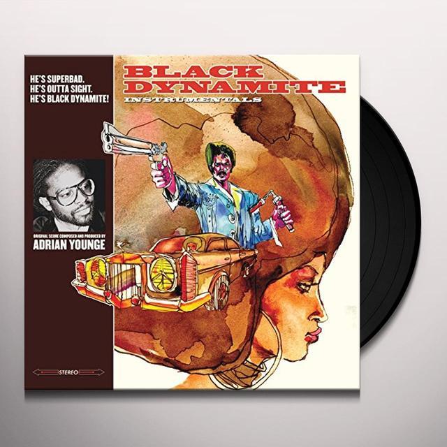Adrian Younge BLACK DYNAMITE INSTRUMENTALS Vinyl Record