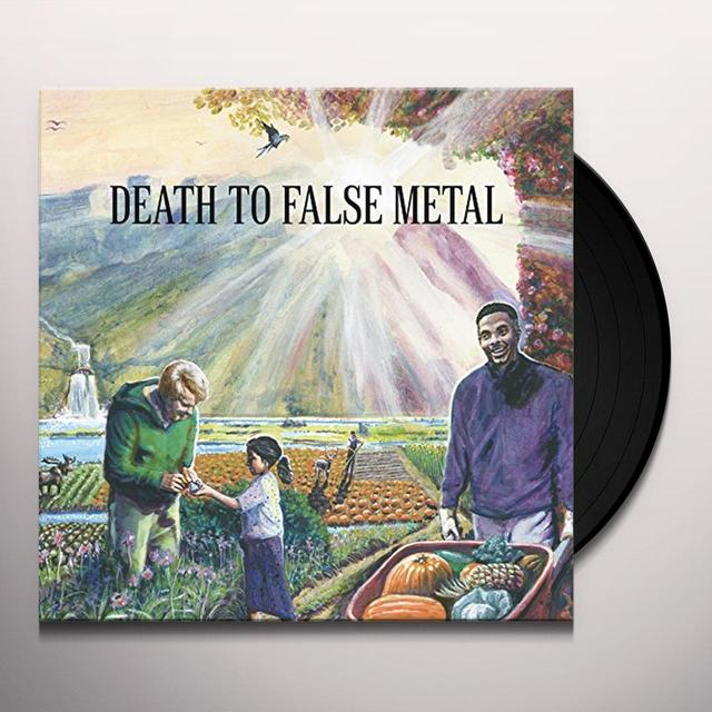 Weezer DEATH TO FALSE METAL Vinyl Record
