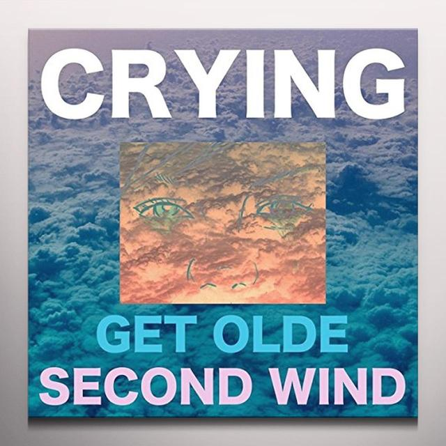 CRYING GET OLDE / SECOND WIND Vinyl Record - Colored Vinyl, Digital Download Included