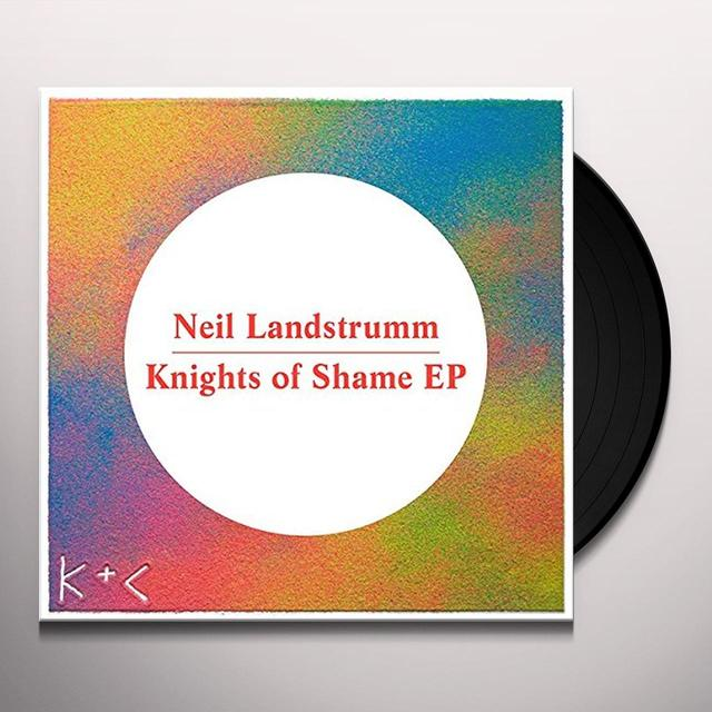Neil Landstrumm KNIGHTS OF SHAME (EP) Vinyl Record