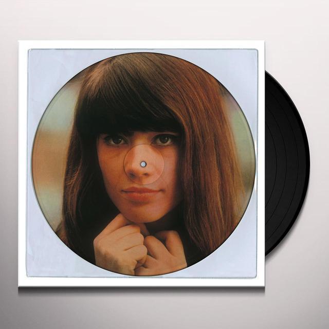 Françoise Hardy CANTA PER VOI IN ITALIANO Vinyl Record - Picture Disc