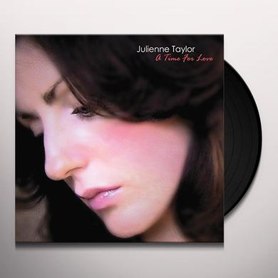 Julienne Taylor TIME FORLOVE Vinyl Record