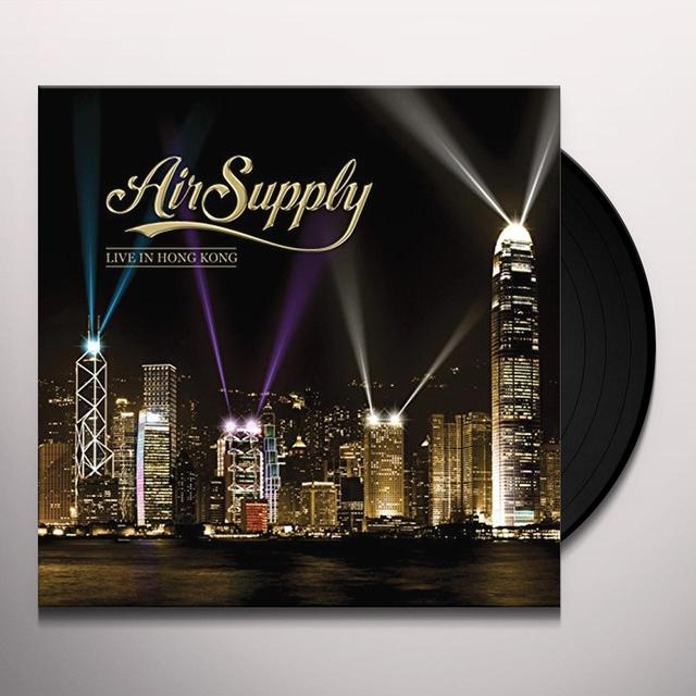 Air Supply LIVE IN HONG KONG Vinyl Record