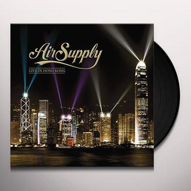 Air Supply LIVE IN HONG KONG Vinyl Record - Limited Edition