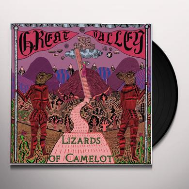 Great Valley LIZARDS OF CAMELOT Vinyl Record