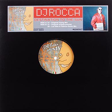 Dj Rocca DESTINATION TO THE SUN Vinyl Record