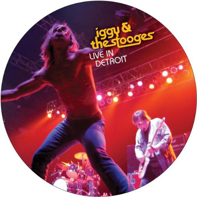 Iggy and the Stooges LIVE INDETROIT 2003 Vinyl Record