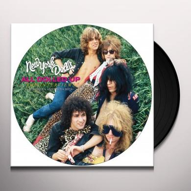 New York Dolls ALL DOLLED UP: INTERVIEW Vinyl Record - Picture Disc