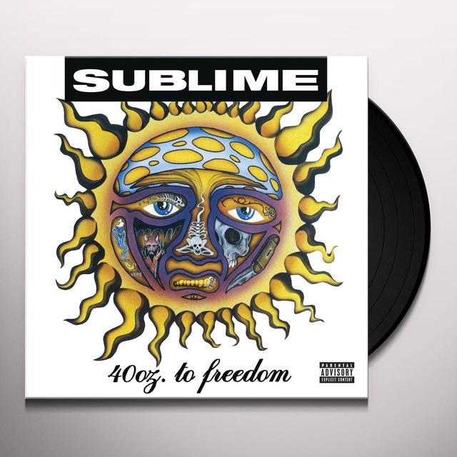 Sublime 40 OZ TO FREEDOM Vinyl Record
