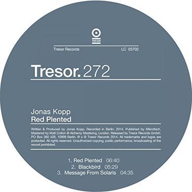 Jonas Kopp RED PLENTED Vinyl Record