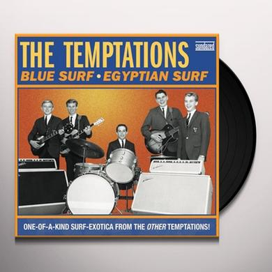 The Temptations BLUE SURF / EGYPTIAN SURF Vinyl Record