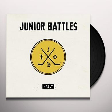 Junior Battles RALLY Vinyl Record