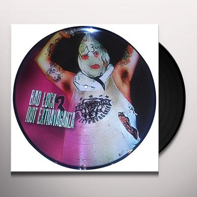 BAD LUCK 13 RIOT EXTRAVAGANZA - PICTURE DISC Vinyl Record