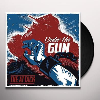 Attack UNDER THE GUN Vinyl Record