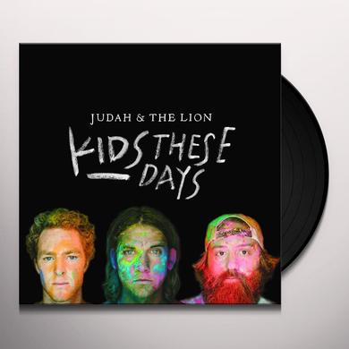 JUDAH & LION KIDS THESE DAYS Vinyl Record